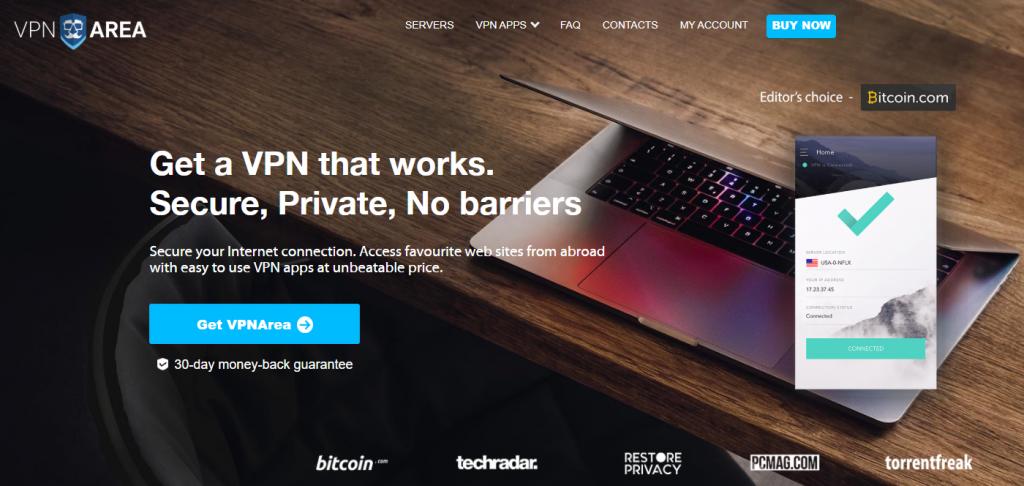 VPNAREA官网