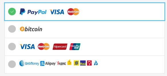 VPNAREA支付方式