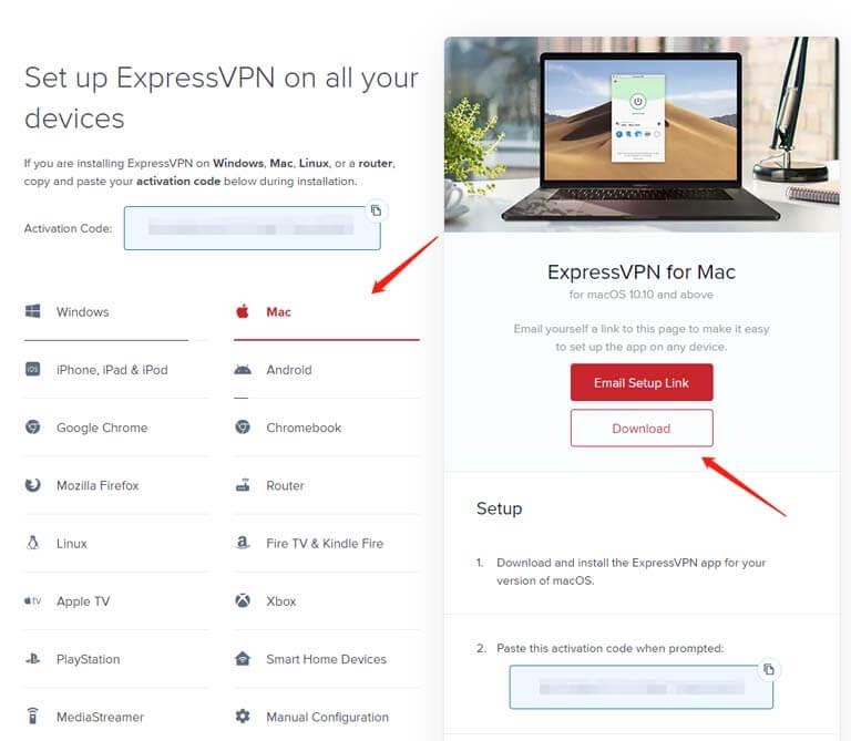 expressvpn-mac-install